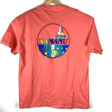 Vintage 1993 Hawaii Kamanu Wind Surfing Single Stitch Tshirt Hanes Made In Usa