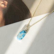 Kendra Scott Harrison Gold Pendant Necklace In Blue howlite NEW