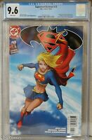 Superman/Batman #13 CGC 9.6 2029421003 Michael Turner cvr, DC Supergirl Darkseid