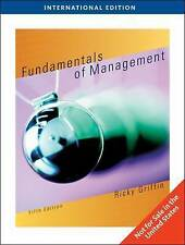 Fundamentals of Management, International Edition, Ricky Griffin, Used; Very Goo
