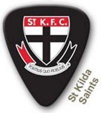St Kilda Saints Guitar Picks 5 Pack, Official AFL Product