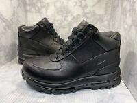 Nike Air Max Goadome ACG Boots Triple Black 865031-009 Size 10.5