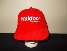 VTG-1990s Waldoch Conversion Vans Trucks Custom corduroy snapback hat sku34