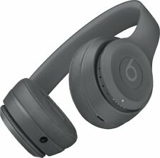 Beats by Dr. Dre Solo3 Wireless On Ear Headphones - Asphalt Gray