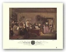 Art Print The Reading Of A Will Sir David Wilkie