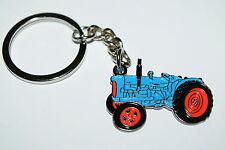 Fordson Blue Tractor Keyring Gift Idea Farming Enamel & Metal Keychain NEW!