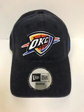 New Era 49Forty NBA Oklahoma City Thunder Black Fitted Hat Medium 0c3f92d76bd8