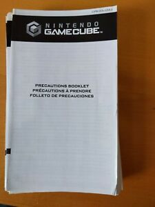 Nintendo GameCube Precautions Booklet C/PM-DOL-USA-2 45749D