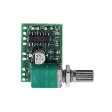 M406 Mini PAM8403 5V 2Channel USB Power Audio Amplifier Board Volume Control HC