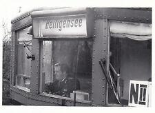 FOTO/REPRO ZEIGT S-BAHN FAHRERST. LETZTE FAHRT ALS REICHSBAHNER 1984  (AGF540)