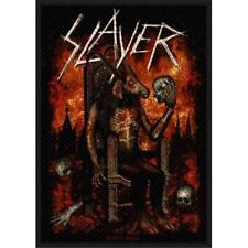 officiel sous licence - SLAYER - Devil sur trône tricoté ECUSSON à COUDRE PATCH