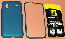 Body Glove Smooth Case for AT&T Samsung Captivate Glide SGH-i927, Matte Blue