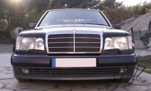 Fits Mercedes W124 - Eye Brows Head Light Cover Set