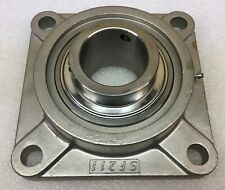 "Premium SUCSFL206-18Stainless Steel UCFL206-18 2-Bolt Flange Unit 1-1//8/"" Bore"