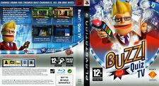 Buzz! Quiz TV PS3 game (2008)