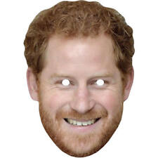 Prince Harry Royal Celebrity Card Mask - All Our Masks Are Pre-Cut!***