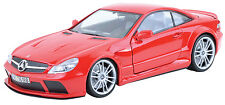 Diecast Car MotorMax (1:18) Mercedes-Benz Sl65 Amg Black Series (No. 79161)