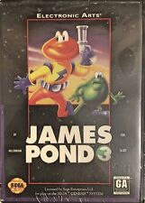 James Pond 3 Operation Starfish Sega Genesis Brand New