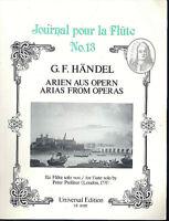 HÄNDEL : Arien aus Opern,  für Flöte solo