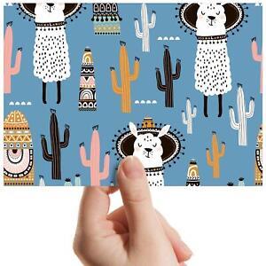"Cute Llama Desert Cactus - Small Photograph 6"" x 4"" Art Print Photo Gift #8740"