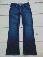 Gap 1969 Women's size 28/6 Sexy Boot Dark Wash Denim Jeans Medium Tint 6A 6 A