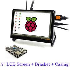 HD 7'' LCD Touch Screen for Raspberry Pi 3 Model B / 2B / B + Bracket & Casing