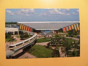 Walt Disney World Epcot Center Florida vintage postcard Universe of Energy