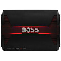 Boss Audio PD4000 Phantom 4000 Watts Class D Monoblock Power Amplifier