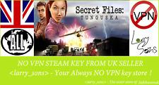 Secret Files: Tunguska Steam key no VPN Region Free UK Verkäufer