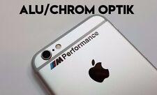 BMW M Performance Aufkleber Sticker Spiegelaufkleber Emblem Logo Alu Chrom NEU
