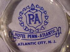 Vintage Hotel Penn-Atlantic Atlantic City New Jersey Ashtray