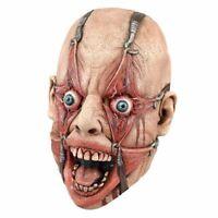 Realistic Horror Latex Torture Mask Freaky Halloween Fancy Dress