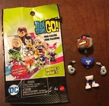 Teen Titans Go! Series 3 Cyborg Mini Figure Blind Bag New Unassembled