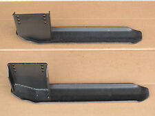 2 SLEDS SKIDS SHOES RUNNERS FOR WOODS RM59 SP69 MOWER DECKS FORD DEERE ALLIS