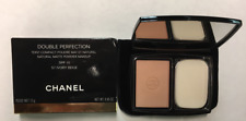 CHANEL 57 IVORY BEIGE DOUBLE PERFECTION NATURAL MATTE POWDER CONTOUR BRAND NEW