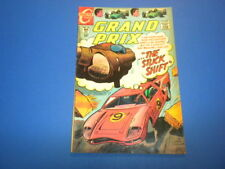 GRAND PRIX #28 Charlton Comics 1969 racing cars hot rods