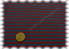 Campan Baumwoll Jersey Streifen Hilco petrol, rot 50 cm