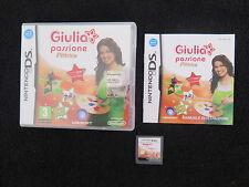 DS : GIULIA PASSIONE : PITTRICE - Completo, ITA ! Compatibile 3DS e 2DS