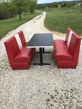 Vintage Diner Booth Set , Restaurant, Cafe, Soda Shop. Used