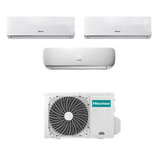 Climatizzatore Trial Split Inverter Hisense Mini Apple Pie 9+9+12 Btu A++ 62