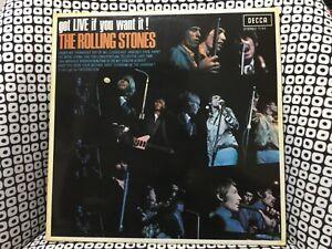 Rare Vinyle LP Rolling Stones collection Jacques Leblanc got live if you want it
