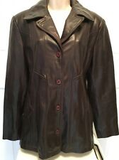 Maxima Wilson's The Leather Expert Leather Jacket Ladies Women's Large