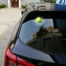 Auto 3D Crazy Tennis Ball Hit Windowa/Body Creative Sticker Windshield Decal  ES