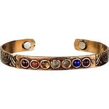 Copper Chakra Adjustable Magnetic Bracelet!