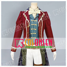 Cosonsen Code: Realize Guardian of Rebirth Arsène Lupin Cosplay Costume With Hat
