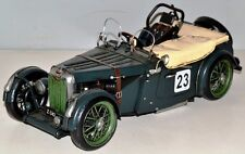 Mg TC del 1950 Oldtimer Auto lamiera modello in lamiera TIN MODEL VINTAGE CAR 30 cm 37695