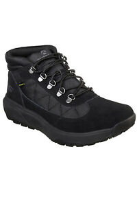 Skechers Mens On The Go Outdoor Ultra Boots Warm Walking Hiking Lace Up Shoes