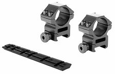 """Ruger 10/22 Mounting Kit - 1"""" Heavy Duty scope Rings & 10/22 Scope Base Mount"""