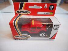 Matchbox VW Volkswagen Beetle 4x4 in Red in Box