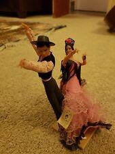 Vintage Retro Muñecas Marin Chiclana bailaora Figurillas Hombre Y Dama